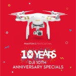 Phantom 3 Professional – DJI 10th Anniversary Sale
