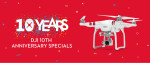 DJI 10 Year Anniversary Sale!