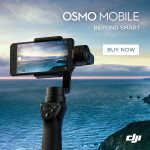 DJI Osmo Mobile + 1 Battery for Free